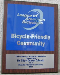 Which city is the most bike friendly ? Charlotte or Denver ? ?