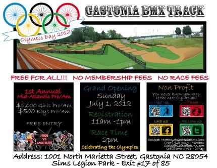 Gastonia BMX Track